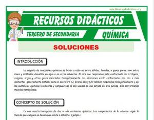 Ficha de Definicion de Solución para Tercero de Secundaria