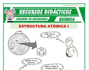 ficha de Estructura Atómica para Segundo de Secundaria