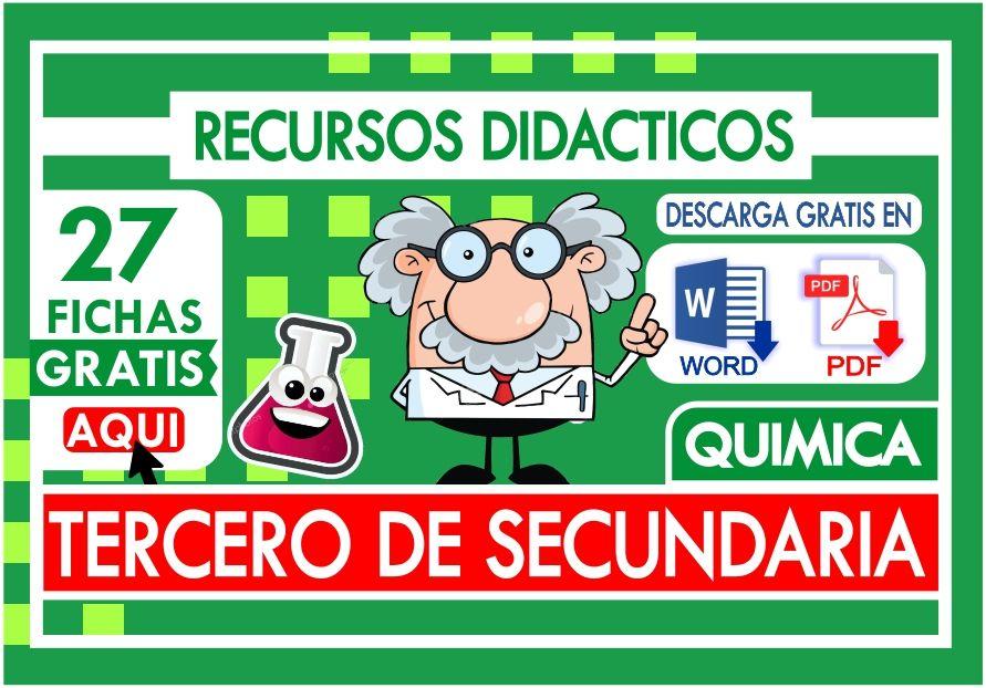 PRoblemas de Quimica para Tercer Grado de Secundaria