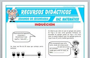Ficha de Ejercicios de Inducción para Segundo de Secundaria