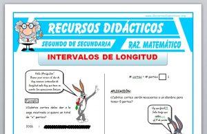 Ficha de Ejercicios de Intervalo de Longitud para Segundo de Secundaria