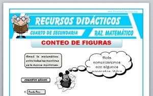 Ficha de Métodos de Conteo de Figuras para Cuarto de Secundaria