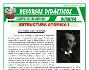 Estructura Atómica para Cuarto de Secundaria