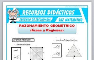 Ficha de Razonamiento Geométrico para Segundo de Secundaria