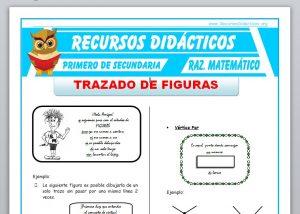 Ficha de Trazado de Figuras para Primero de Secundaria