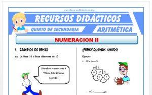 Ficha de Ejercicios de Cambios de Base para Quinto de Secundaria