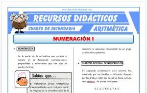Ficha de Ejercicios de Sistemas de Numeración para Cuarto de Secundaria