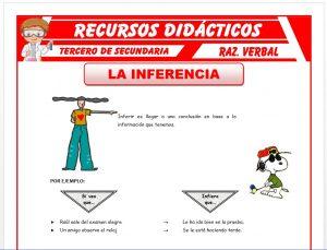 Ficha de Ejercicios sobre la Inferencia para Tercero de Secundaria