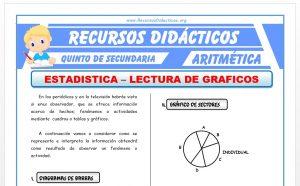 Ficha de Graficos en la Estadistica para Quinto de Secundaria