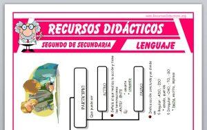 Ficha de Los Verboides para Segundo de Secundaria