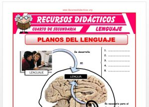 Ficha de Planos del Lenguaje para Cuarto de Secundaria
