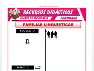 Ficha de Variaciones Linguisticas para Cuarto de Secundaria