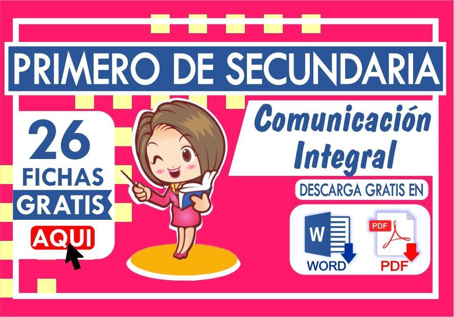 Ejercicios de Comunicacion para Primero de Secundaria