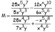 Ejemplo de Division de Polinomios