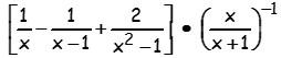 problemas de fracciones algebraicas