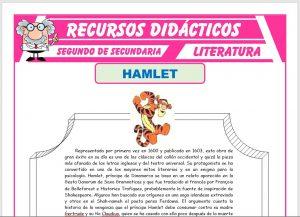 Ficha de Hamlet para Segundo de Secundaria