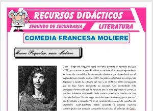 Ficha de La Comedia Francesa para Segundo de Secundaria