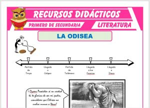 Ficha de La Odisea para Primero de Secundaria