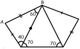 Problemas de Tercer Caso de Congruencia de Triangulos para tercero Grado