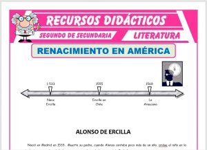 Ficha de Renacimiento en América para Segundo de Secundaria