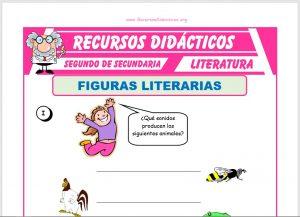 Ficha de Tipos de Figuras Literarias para Segundo de Secundaria