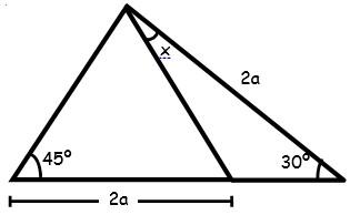 Actividades de Triangulos Notables para Segundo Grado