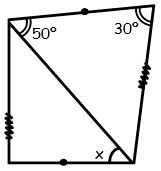 Ejercicios de Congruencia de triangulos para Segundo Grado