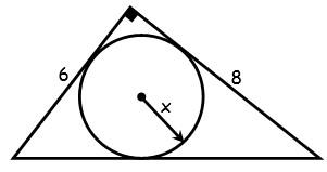 Ejercicios de Figuras Inscritas y Circunscritas en la Circunferencia para Tercer Grado