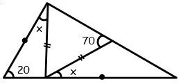 Ejercicios de Primer Caso de Congruencia de Triangulos para tercero Grado