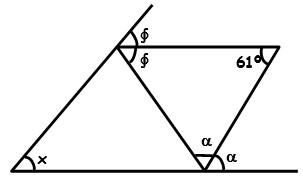 Ejercicios de repaso de triangulos Segundo Grado