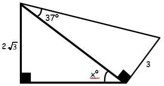 Ejercicios de Triangulos Notables para Segundo Grado