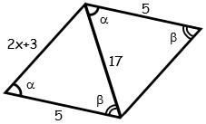 Problemas de Congruencia de triangulos para Primer Grado