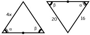 Problemas de Congruencia de Triangulos para Segundo Grado