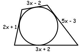 Problemas de Figuras Inscritas y Circunscritas en la Circunferencia para Tercer Grado