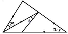 Problemas de Repaso de Triangulos para Tercer Grado