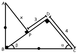 Problemas de Segundo Caso de Congruencia de Triangulos para tercero Grado