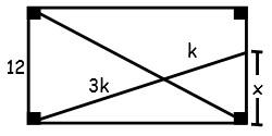 Problemas de Semejanza de Triangulos para Cuarto Grado