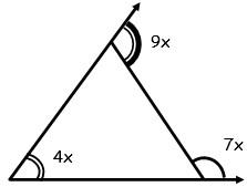 Triangulos ejercicios para Tercer Grado