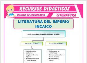 Ficha de La Literatura del Imperio Incaico para Quinto de Secundaria