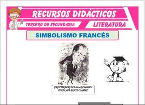 Ficha de Simbolismo Francés para Tercero de Secundaria