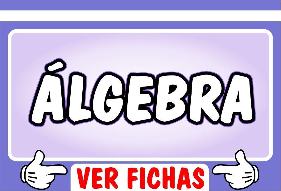 Ejercicios de Algebra para Secundaria - Recursos Didacticos