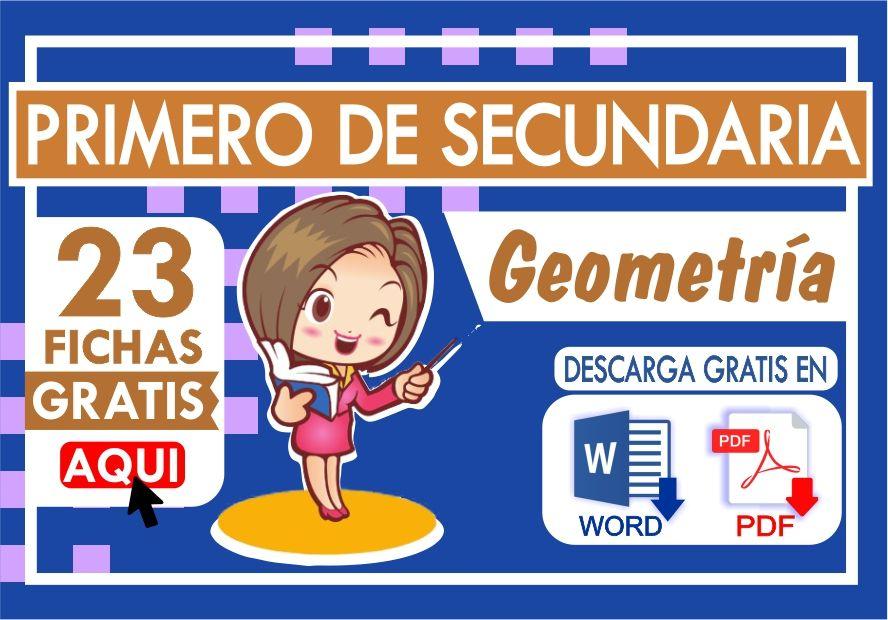 Problemas de Geometria para Primer Grado de Secundaria