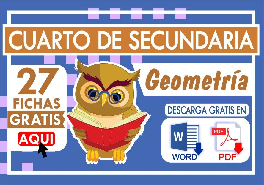 Ejercicios de Geometria para Cuarto Grado de Secundaria