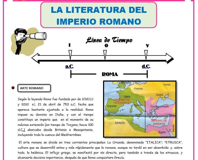 Marco Teorico y Conceptos de las Separatas de Literatura para Primer Añoo de Secundaria