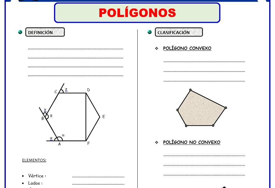 Formulas de Geometria para Cuarto Grado de Secundaria