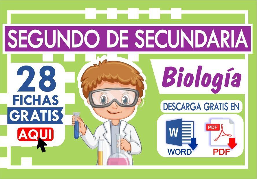 Ejercicios de Biologia para Segundo Grado de Secundaria