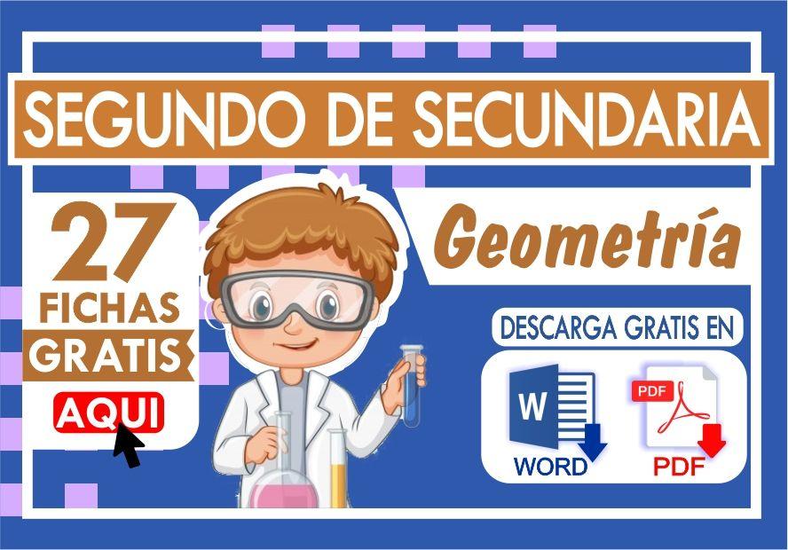 Ejercicios de Geometria para Segundo Grado de Secundaria