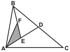 Problemas de Relacion de Areas de Regiones Triangulares para Quinto Grado