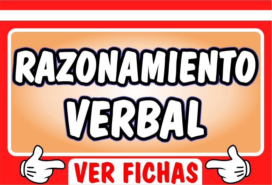 Actividades de Razonamiento Verbal para Secundaria - Recursos Didacticos