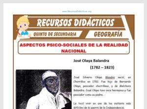 Aspectos Psico-Sociales del Perú para Quinto de Secundaria